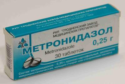 Метронидазол от гарднереллеза