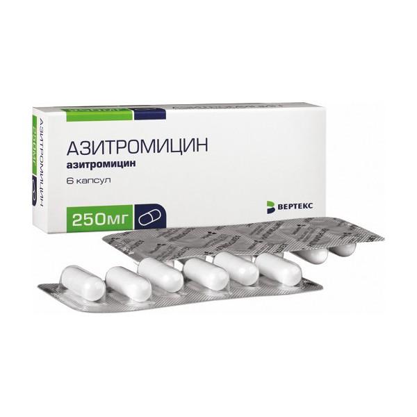 Азитромицин при гонорее
