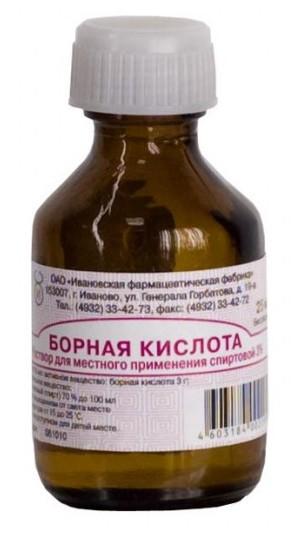 Борная кислота от молочницы способы применения