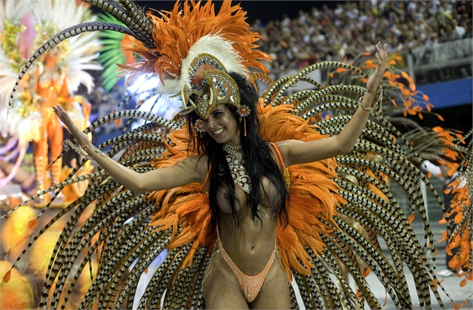Фото девушек карнавала в бразилии