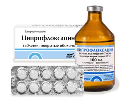 лечение простатита ицпрофлоксациои