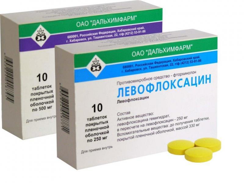 офлоксацин или левофлоксацин простатит
