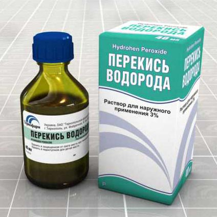 Как лечить псориаз перекисью водорода