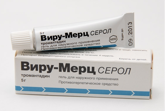 виру-мерц для лечения генитального герпеса