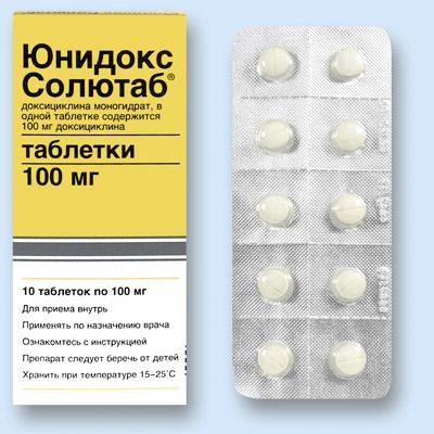 лечение простатита юнидоксом